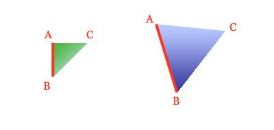 Triangle comparison