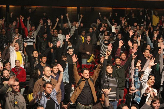 Developers at BrazilJS by holmes.josh