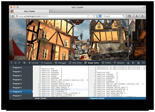 The WebGL Shader Editor