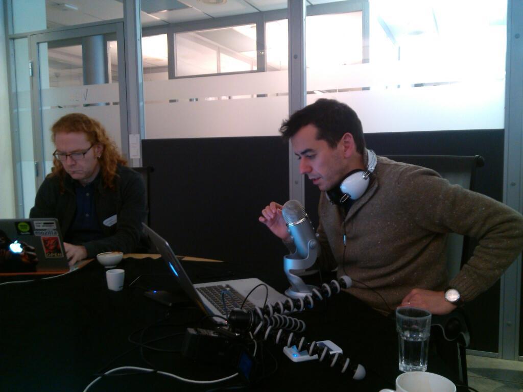 sergi and chris recording