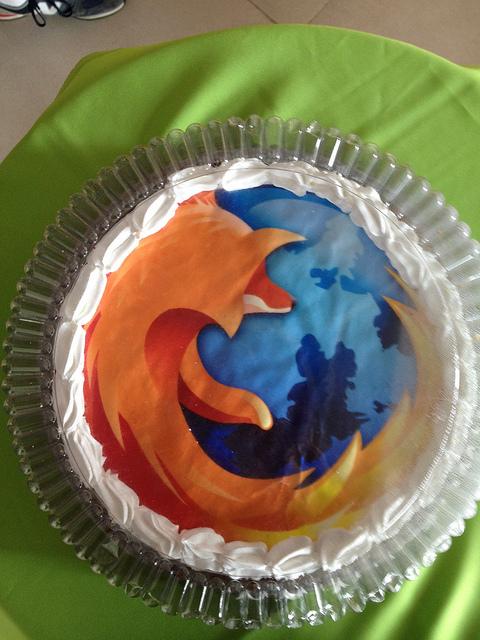 Firefox cake