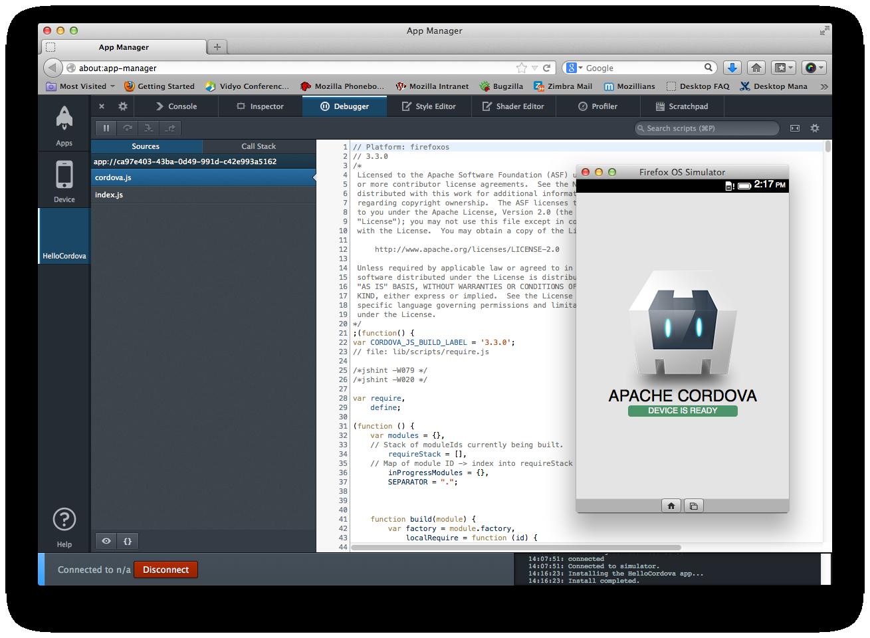 Building Cordova Apps For Firefox Os ★ Mozilla Hacks The