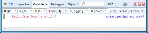 Server log