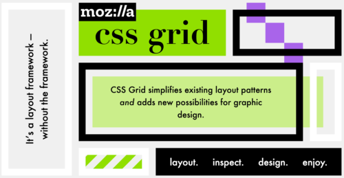 Screen capture of CSS Grid demo