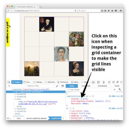 """variations on a grid"" screenshot"
