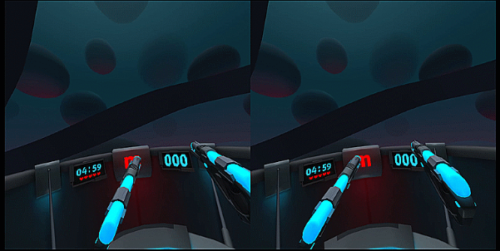 Capture of a A-Blast gameplay