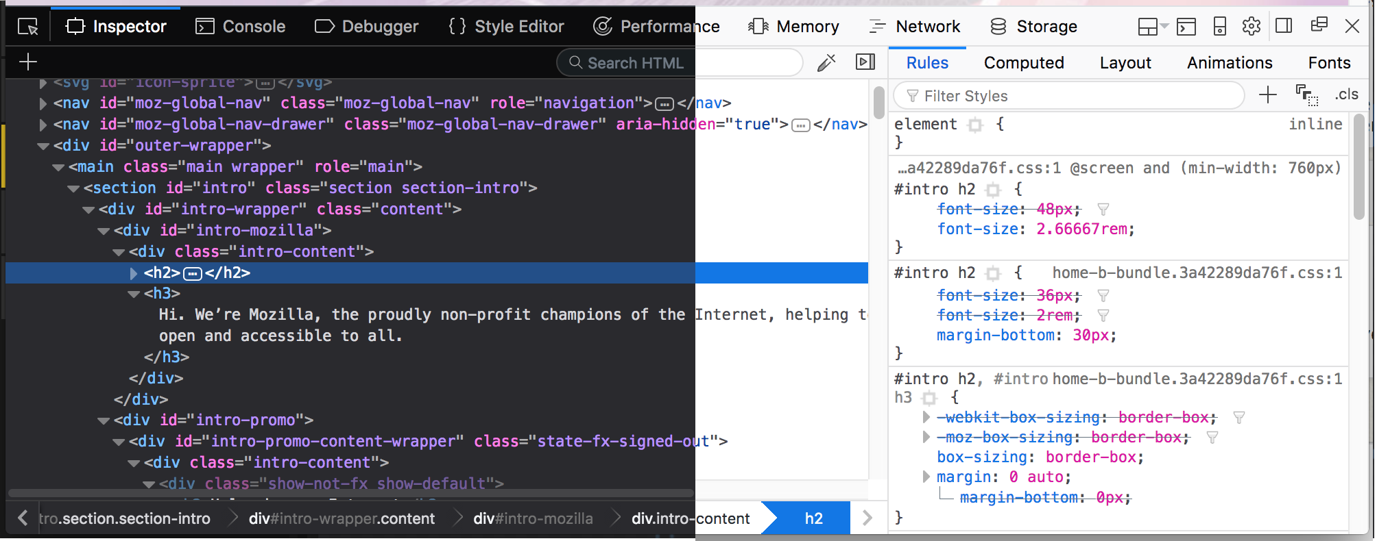 Developer Edition Devtools Update: Now with Photon UI