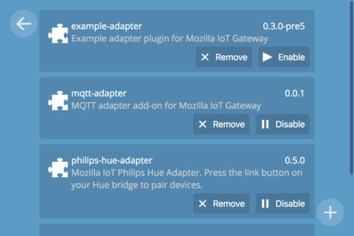 Adapter List