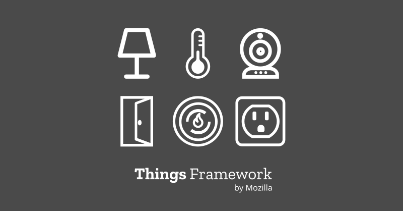 An illustration of the Things Framework by Mozilla