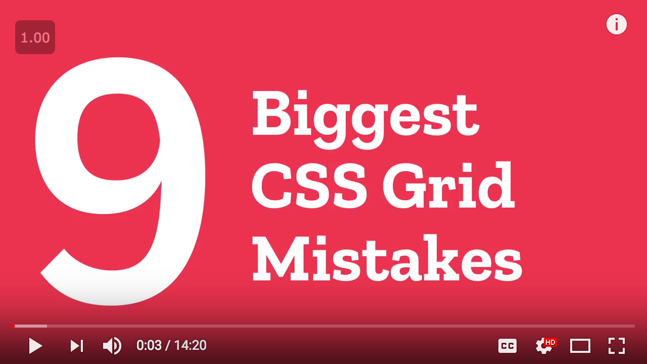 9 Biggest Mistakes with CSS Grid - Mozilla Hacks - the Web