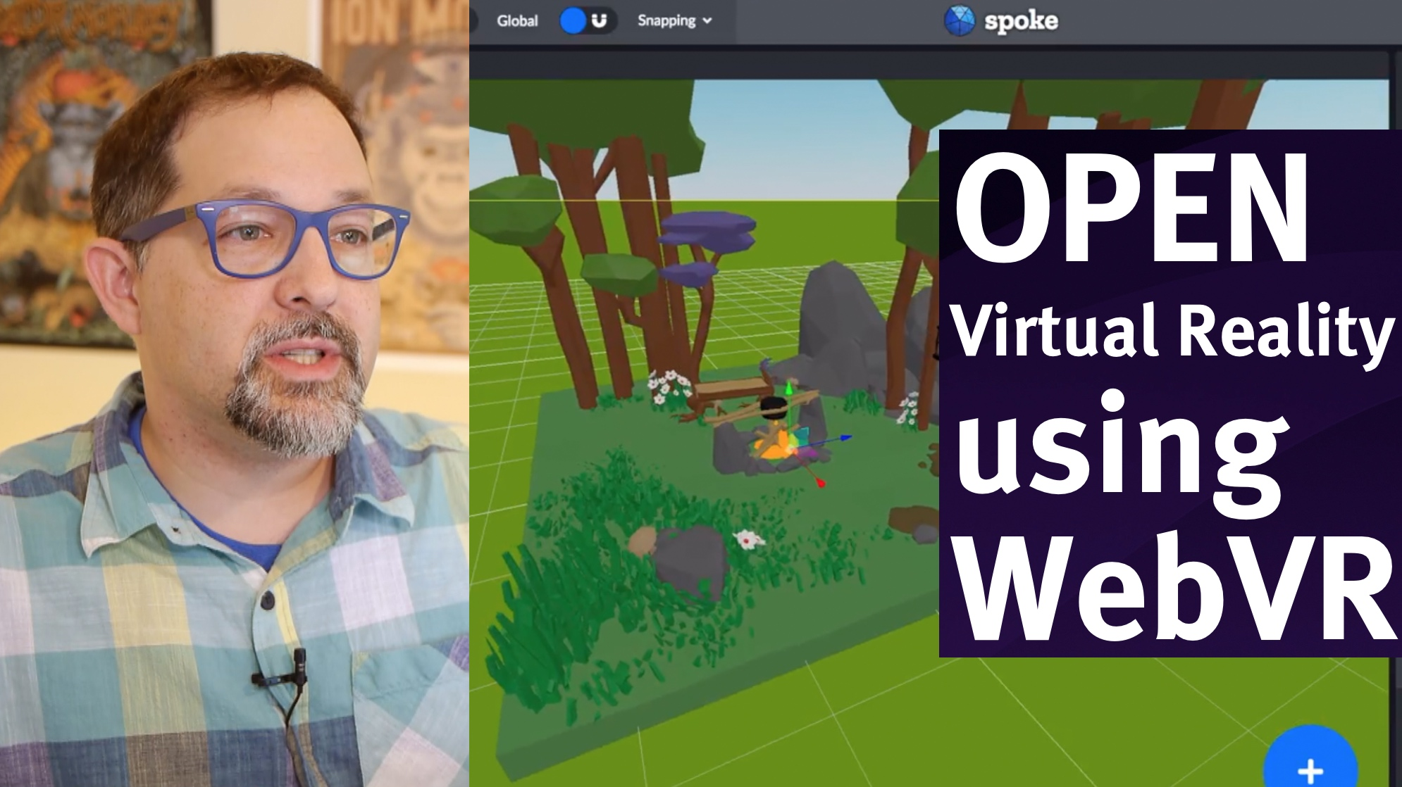 How to make VR with the web, a new video series - Mozilla