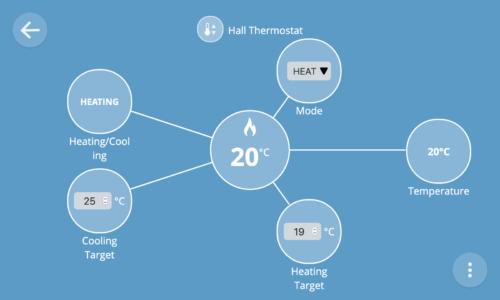 Thermostat UI