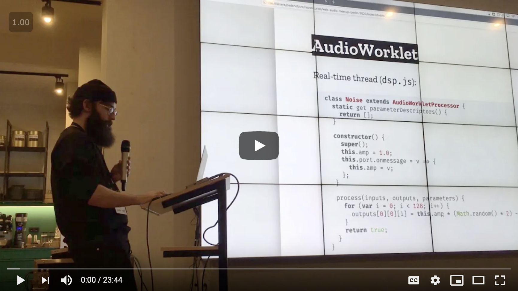 High Performance Web Audio with AudioWorklet in Firefox
