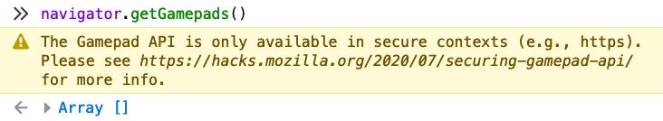 Firefox developer console
