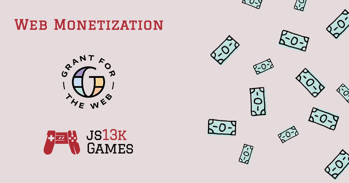js13kGames 2020 Web Monetization