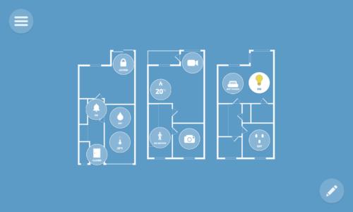 WebThings Gateway floorplan