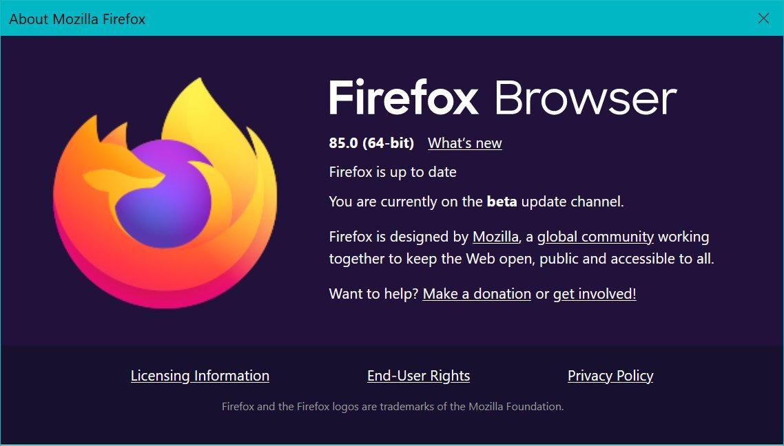 January brings us Firefox 85 - Mozilla Hacks - the Web developer blog
