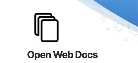 Welcoming Open Web Docs to the MDN family - Mozilla Hacks - the Web developer blog