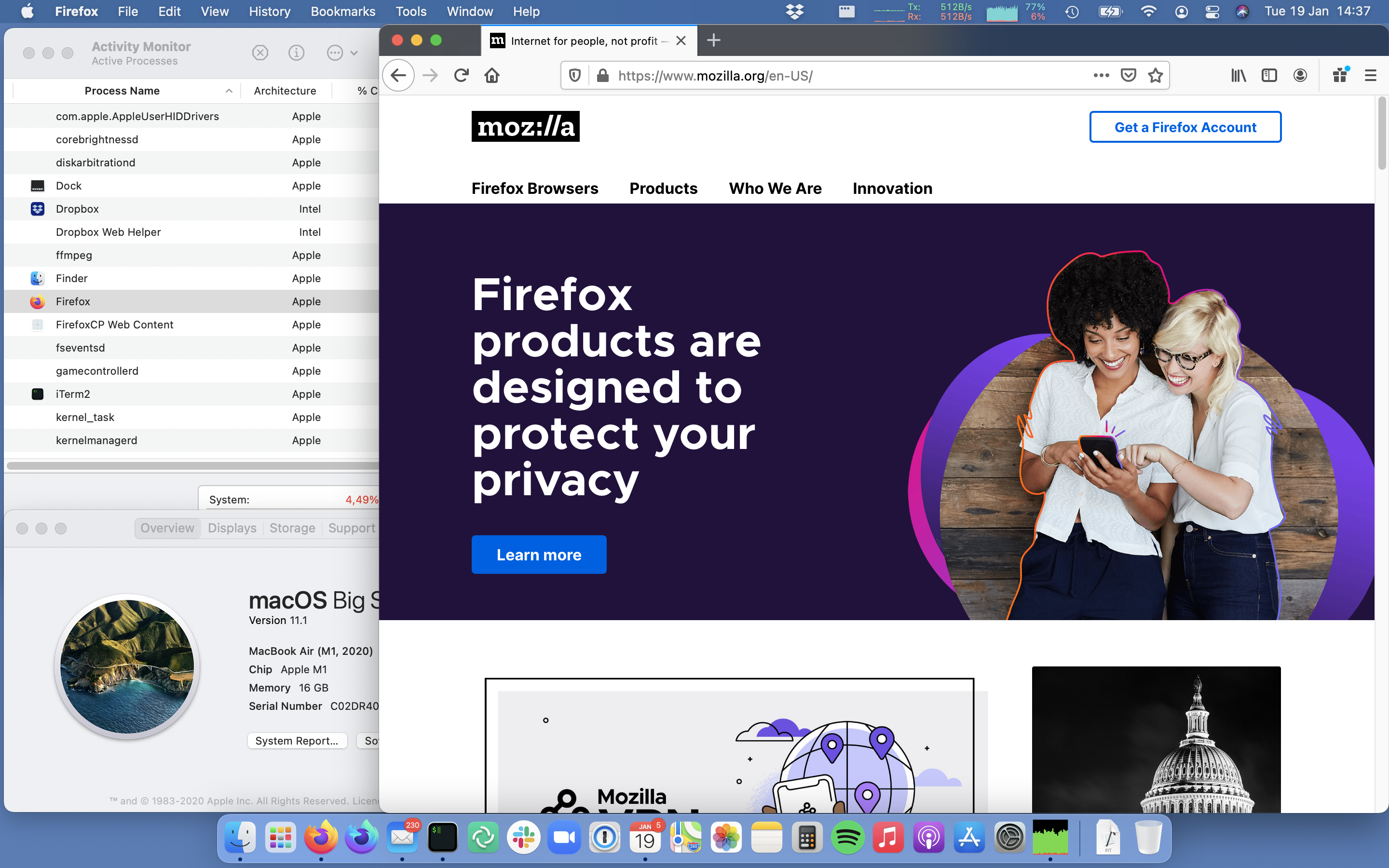 Porting Firefox to Apple Silicon